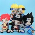 Anime Naruto Uzumaki Uchiha Sasuke sabaku no Gaara Plush Doll 5 Estilos y Itachi Suave Peluche de Juguete 20 CM