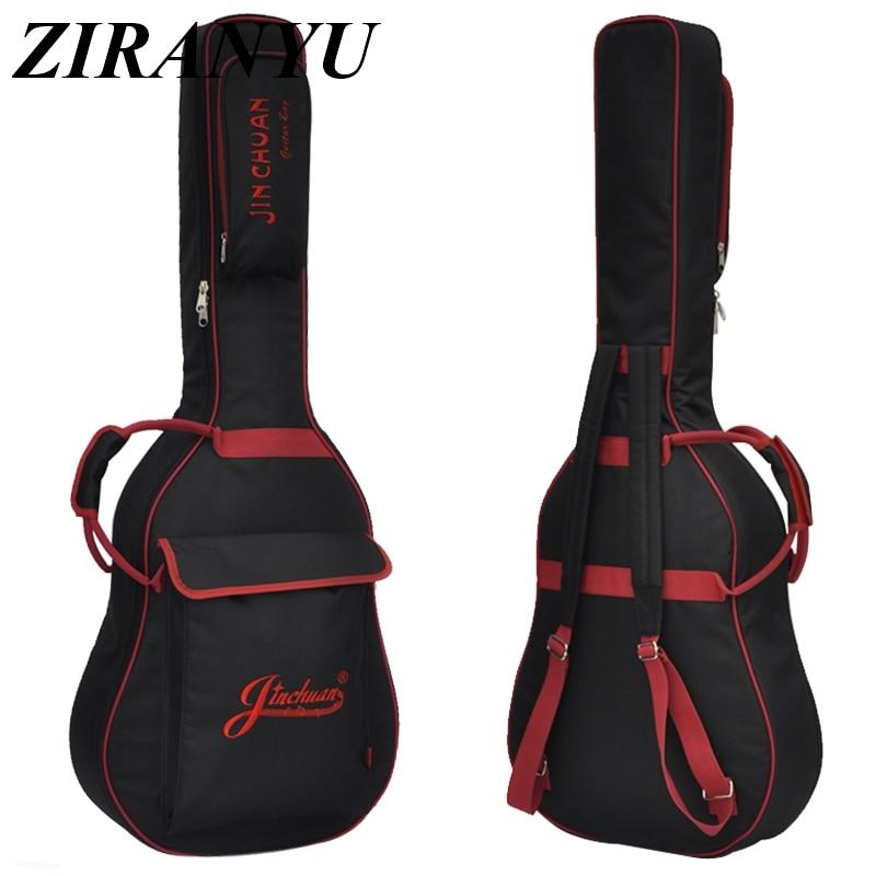 36 39 41 Zoll Folk Gitarre Paket Akustische Gitarre Doppel Gurte Gepolstert Gitarre Soft Case Gig Tasche Rucksack Wasserdicht Ukulele Tasche