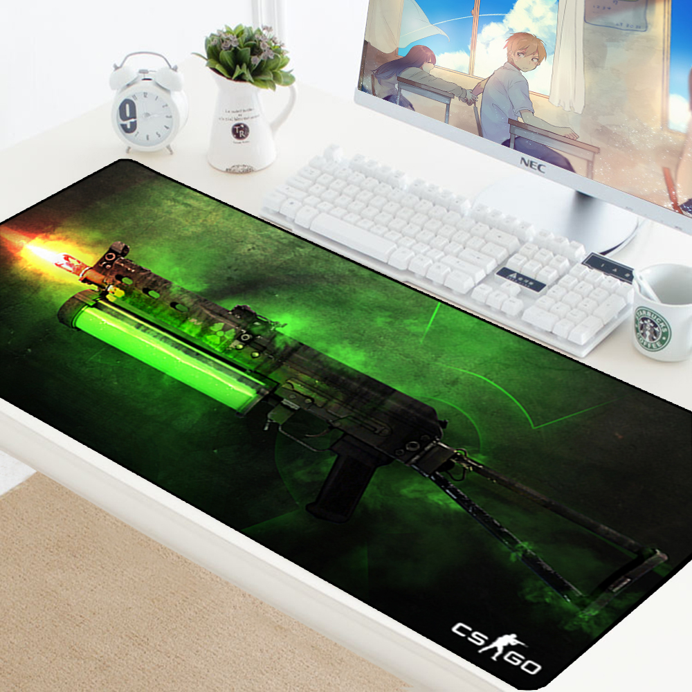 Image 5 - Large Game Mouse Pad Mat Laptop Gaming Mousepad Anti slip Natural