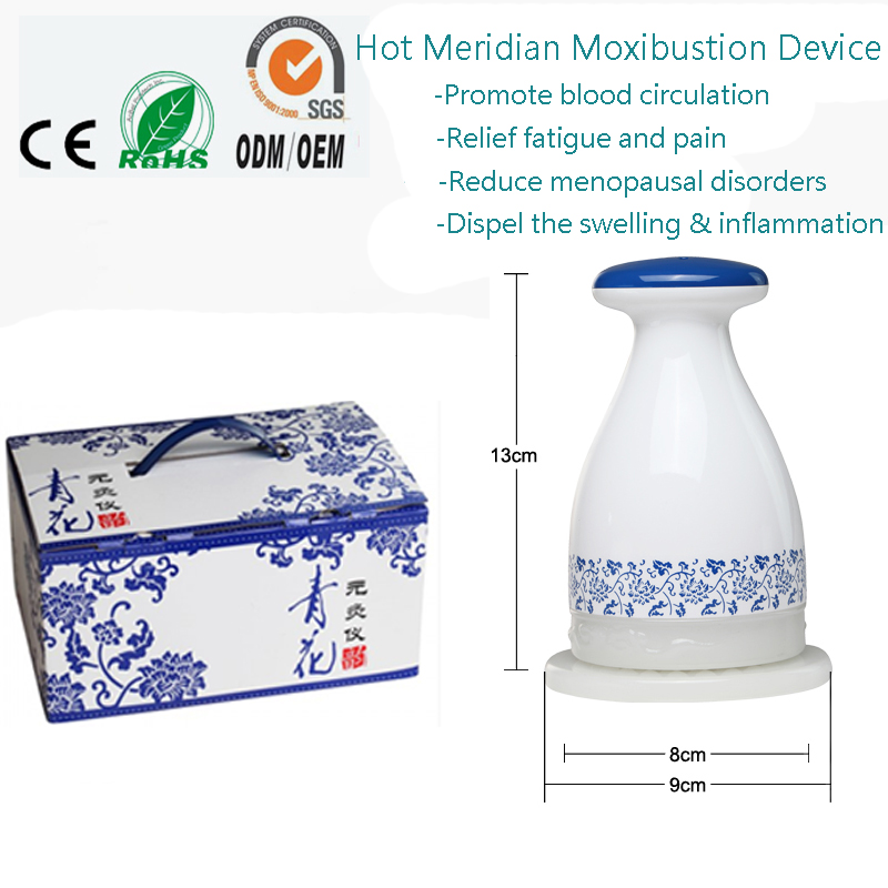 Home Beauty Salon Hot Heating Meridian Moxibustion Detox Health Care Massager For Shoulder Back Arm