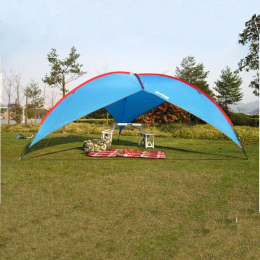 Ultralarge Convenient Installation Six Angular Marquee Beach Advertising Camping Sun Shade Tents Shelter Outdoor Activities