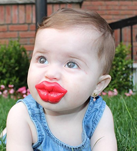 Food Grade Silicone Funny Baby Pacifiery Kiss Pink Rose Red Lip Infant Pacifiers Free Shippin In Pacifier From Mother Kids On Aliexpress Com