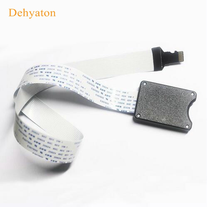 Dehyaton 2018 New Arrival 25CM 48CM 62CM TF to micro SD card Flex Extension cable Extender Adapter reader car GPS mobile
