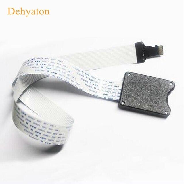 Dehyaton 2018 nueva llegada 25 cm 48 cm 62 cm TF a tarjeta micro SD Flex extensor cable extensor adaptador lector coche GPS móvil