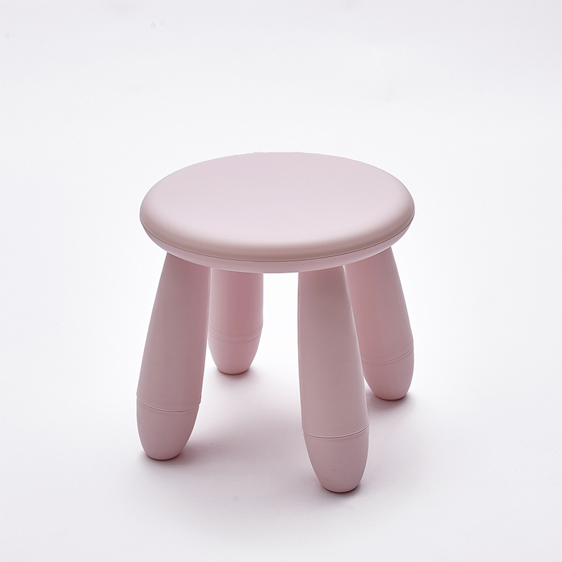 2018 New Children's chair Pouf Poire Taburetes Nordic style Chair plastic Stools Stool Shoes Furniture Containing Modern
