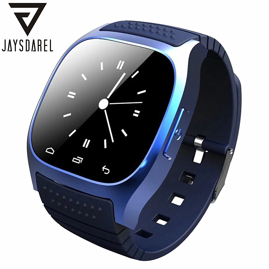 JAYSDAREL M26 Bluetooth Smart Watch For Android iOS Sync Phone Call Pedometer Anti-Lost Wrist Smartwatch PK GT08 DZ09 GV18 U8 zaoyiexport bluetooth 4 0 smart watch u10 support camera anti lost smartwatch for iphone xiaomi sumsung android pk u8 gt08 dz09
