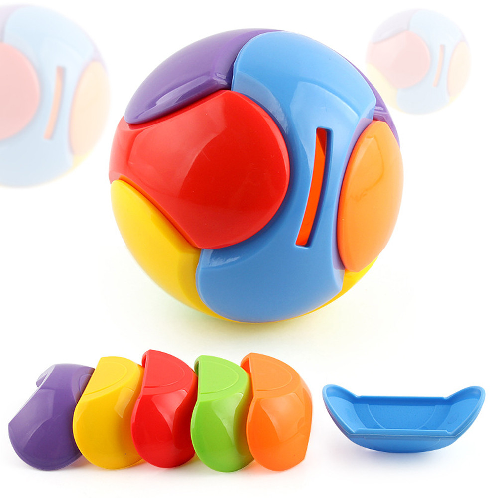 Puzzle Ball Coin Bank Piggy Bank Puzzle Game Saving Money Educational Toys Gifts For Children Collect Coins Playing Fun toy 5.30