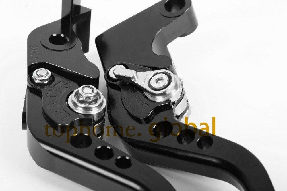 For HYOSUNG GT250R 2006 - 2010 GT650R 2006 - 2009 Short CNC Clutch Brake Levers 2007 2008 Black/Silver 5 color for hyosung gt250r 2006 2010 hyosung gt650r 2006 2009 folding extendable brake clutch levers