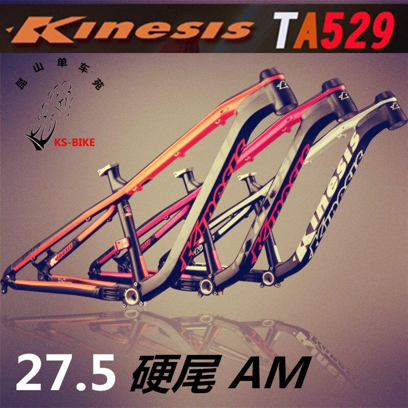 Kinesis TA529 AM Mountain Bike Frame 27.5inch *650b Frame 142*12 Barrel Axle Frame Mountain Bike Accessories
