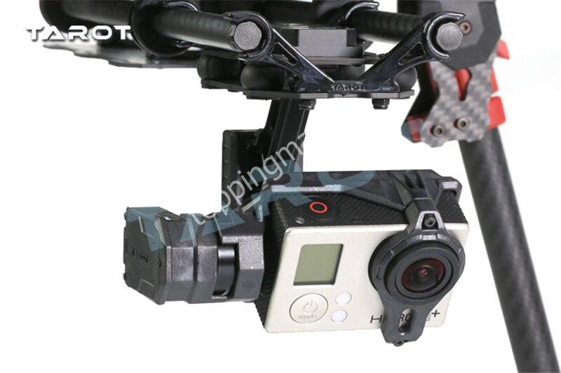 Tarot T2-2D 2 axes sans balais cardan pour Gopro Hero 4/3 +/3 TL2D01 bricolage Drone FPV cardan - 5