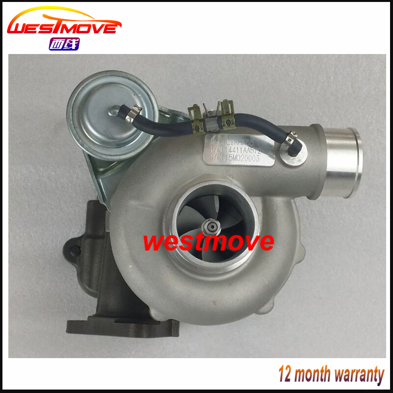 RHF55 Turbo VA440028 VB440028 VC440028 VD440028 VE440028 14411AA572 turbocharger for <font><b>Subaru</b></font> <font><b>Impreza</b></font> <font><b>WRX</b></font> <font><b>STI</b></font> 2.5L <font><b>2004</b></font>-2007 EJ25 image