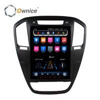 Octa Core 10,4 9,7 вертикальный экран IPS 2.5D Android 6,0 Автомобильный DVD Радио для BUICK Regal 2009 2013 opel insignia 32G ROM 4G