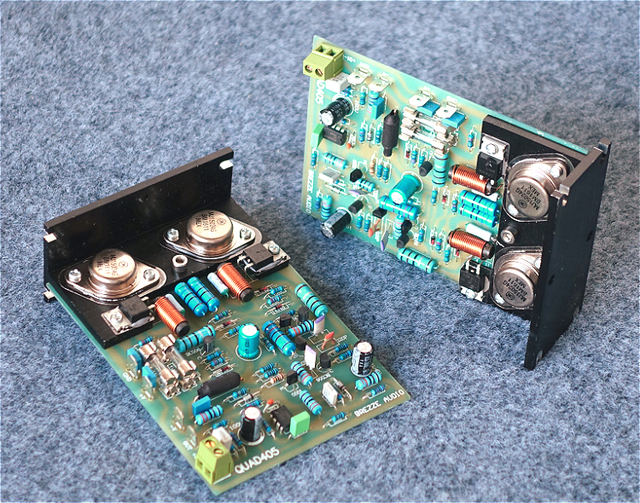 2 kanały sklonowane Quad 405 klasyczna płyta wzmacniacza zasilania zmontowana i przetestowana płyta QUAD405