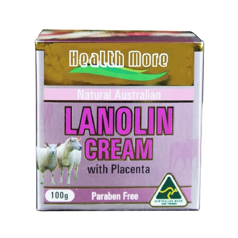 Natural HealthMore Australian Lanolin Sheep Placenta Cream Anti-aging Nourishing Rejuvenating cream for dry skin Wrinkle Reducer christina rejuvenating