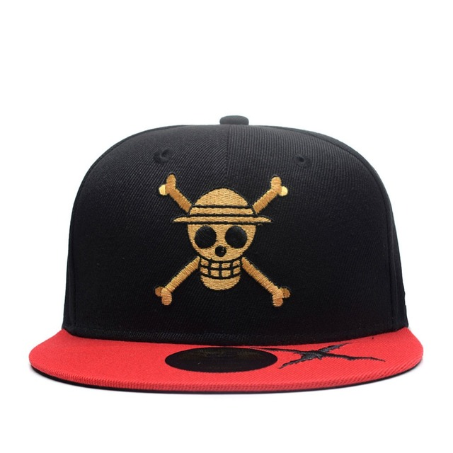 Anime One Piece Character Cosplay Cartoon Cute Skull Zombie Skeleton Cap