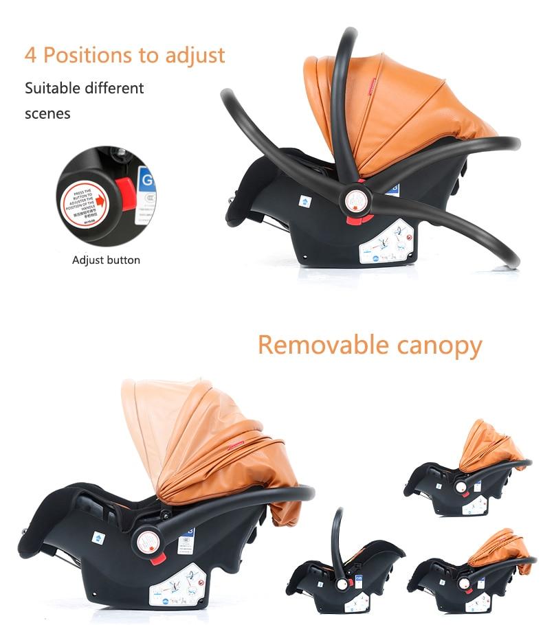 luxury baby stroller 3 in 1 (9)