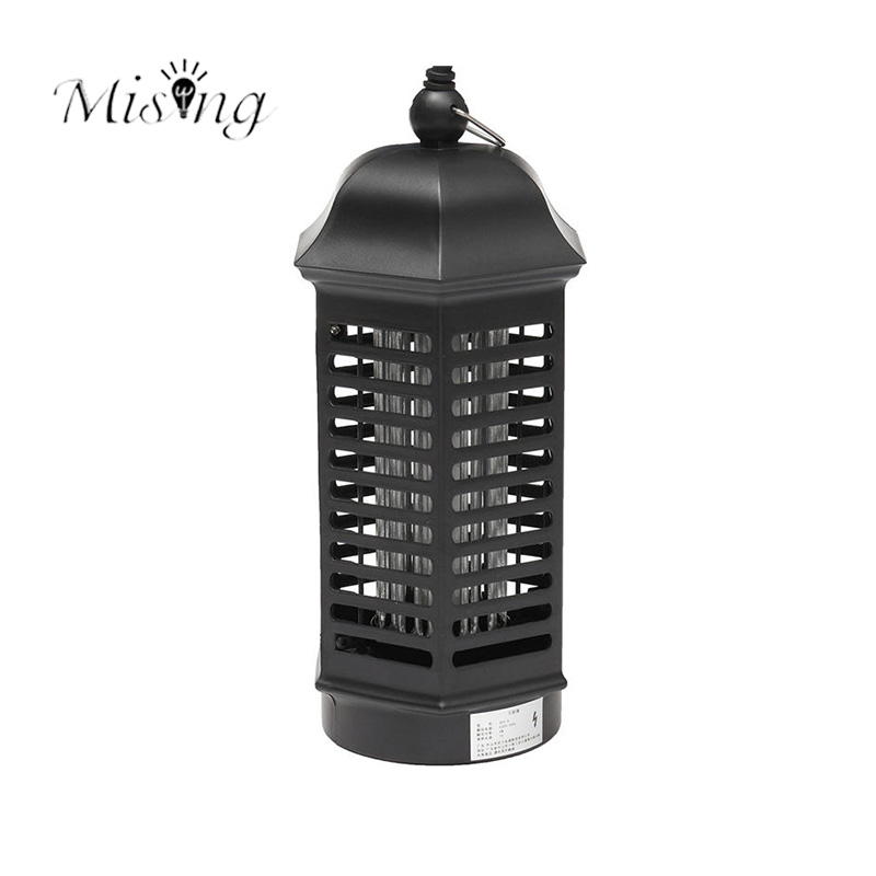 Mising 4W LED Outdoor Electronic UV Mosquito Control Lamp Insect Zapper Bug Pest Killer Light Ourdoor Portable Camping Lights
