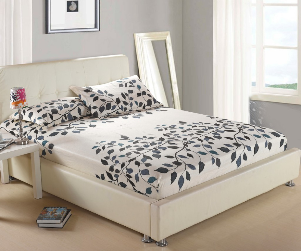 decorative mattress cover. one piece printing fitted sheet twin full queen king size,bed sheet/bedsheet mattress cover protective case bed linen bedding-in from home \u0026 garden on decorative r
