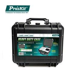 Pro'sKit de herramientas de plástico ABS para exteriores a prueba de golpes, caja de seguridad impermeable sellada, caja seca, equipo de carga de gran capacidad