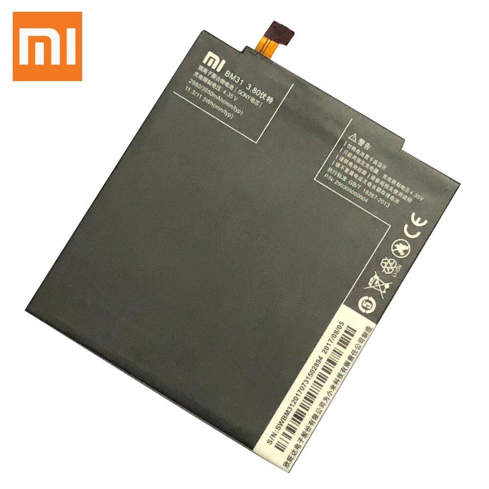 Original Phone Battery BM31 BM32 BM22 BM39 BM3C For Xiaomi Mi3 Mi4 Mi5 Mi6 Mi7 Mi 3 4 5 6 7 Lithium Polymer Batteries