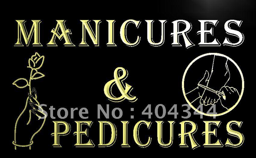 LB592 Manicures Pedicures Beauty Salon LED Neon Light Sign