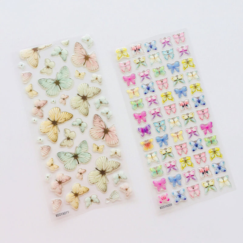 Crystal Butterfly Bullet Journal 3D Decorative Washi Stickers Scrapbooking Stick Label Diary Stationery Album StickersCrystal Butterfly Bullet Journal 3D Decorative Washi Stickers Scrapbooking Stick Label Diary Stationery Album Stickers