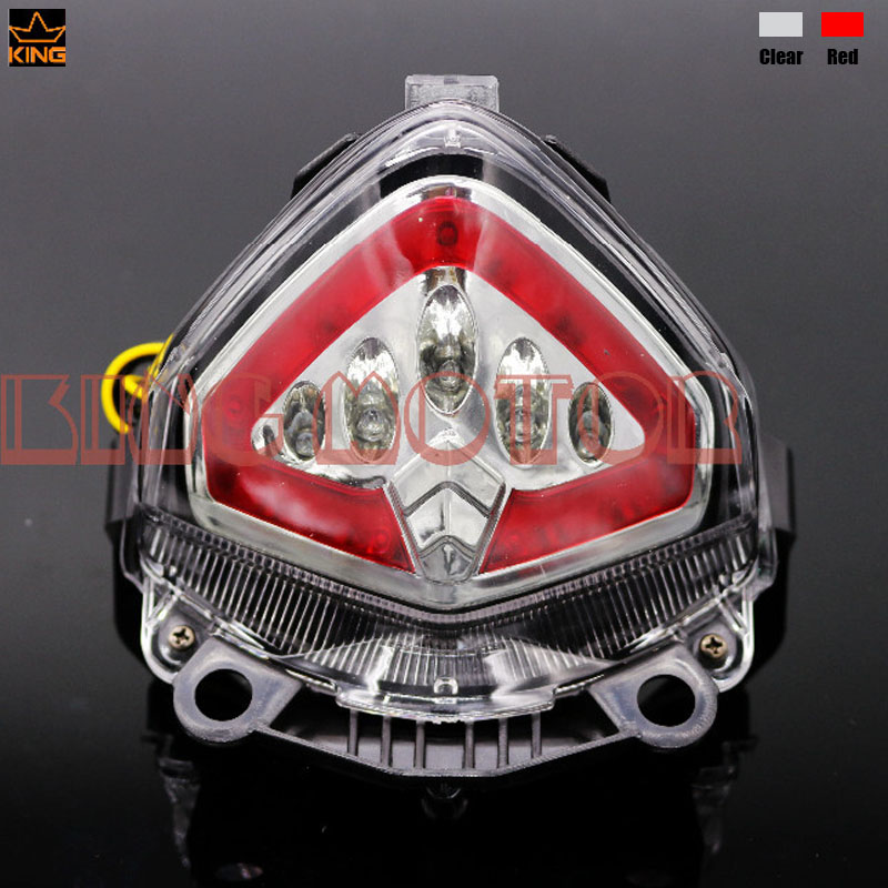 Motorcycler Accessories Integrated LED Tail Light Turn signal Blinker Clear For HONDA CB400X CB500F CB500X CB 400X 500F 500X motorcycle accessories black racing 12 led turn signal led light indicator lens blinker fit for honda rvf400 nc35 1994 1998