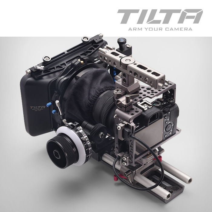 Tilta A7 Rig Kit Cage Baseplate Follow focus 4*4 Lightweight Matte box for Sony A7S A7S2 A7R2 camera цены онлайн