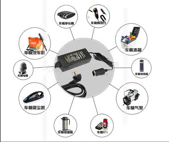 ЕС/Великобритания/США/AU 100-240 В до 12 В 6A/8A/10A автомобильный прикуриватель ac-dc адаптер преобразователя питания Инвертер Трансформатор 110 В 220 В