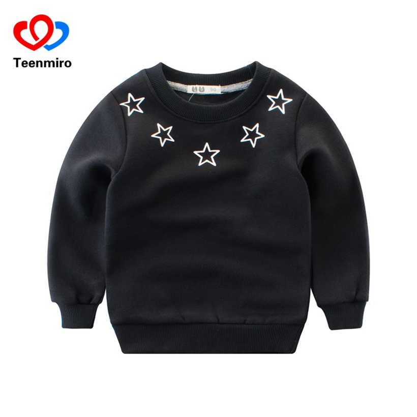 2018 New Boys Animal Hoodies Kids Dinosaur T Shirt Children Sweatshirt Baby T-shirt Long Sleeve Cotton Tees Toddler Casual Hoody