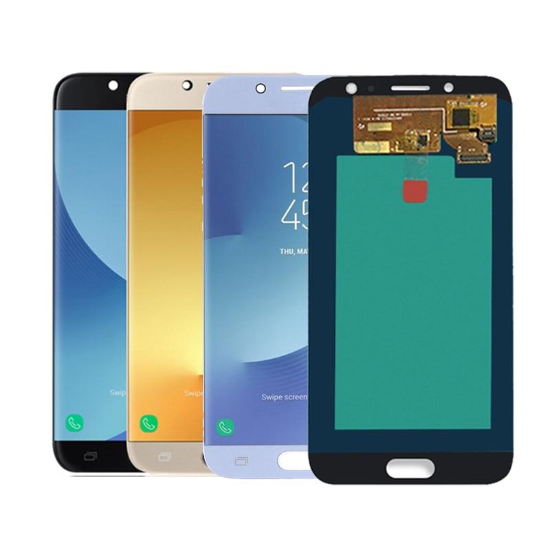 5.5 ''AMOLED affichage pour SAMSUNG Galaxy J7 Pro J730 LCD pour SAMSUNG J7 2017 écran tactile numériseur livraison gratuite
