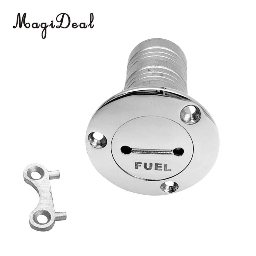 "Boat Deck Filler Fuel Fill Fuel Flush Mount Petrol Water Diesel 38mm 1 1//2/"""