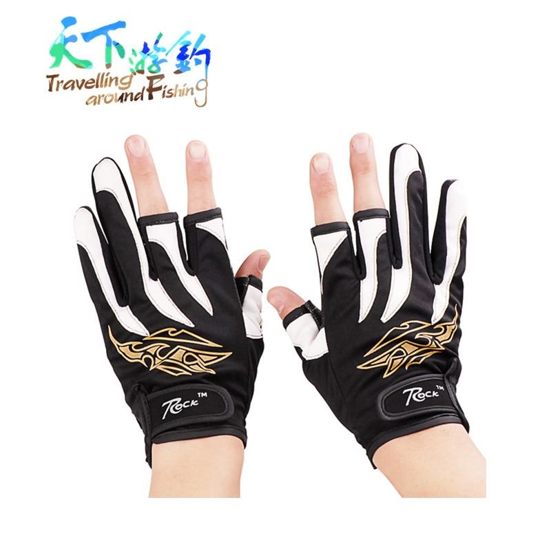 Aktionshandschuhe Angeln 21x10,5cm Anti-Schnitt 3-Finger Anti-Rutsch-Handschuh Fischschutz Peche Guanti Pesca Eldiven Tek Parm