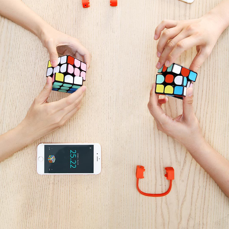 Image 5 - Youpin Giiker super smart cube App remote comntrol Professional Magic Cube Puzzles Colorful Educational Toys For man,womenSmart Remote Control   -