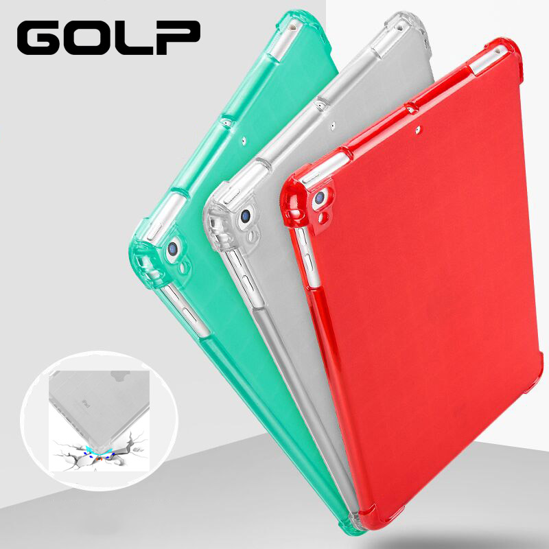 case for iPad Mini 5 Case, GOLP Transparent Soft TPU Silicone Shockproof Back Cover for iPad Mini 5 Casecase for iPad Mini 5 Case, GOLP Transparent Soft TPU Silicone Shockproof Back Cover for iPad Mini 5 Case