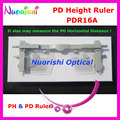 Ophthalmic Pupil Height Ruler PH PD Ruler Meter Measurer may measure Pupil Height and Horizontal Distance PDR16A Free Shipping