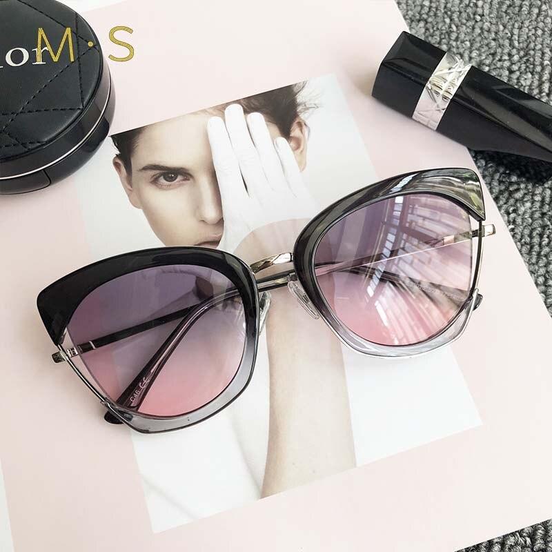 MS 2018 Fashion Sunglasses Women Brand Designer Vintage Sun