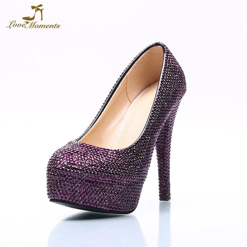 Aliexpress.com : Buy Rhinestone Purple Bridal Wedding