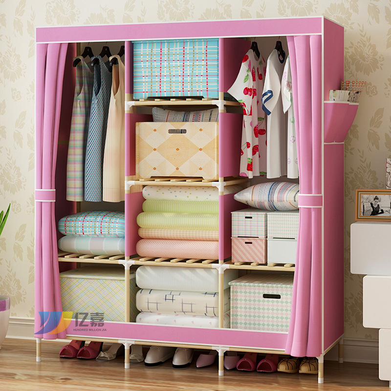 Schlafzimmer möbel garderobe vlies tuch schrankkombination falten ...