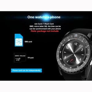 Image 3 - Inteligentny zegarek V8s mężczyźni Bluetooth Sport zegarki damskie panie Rel gio smartwatch z kamerą gniazdo karty sim telefon z systemem android PK DZ09 A1