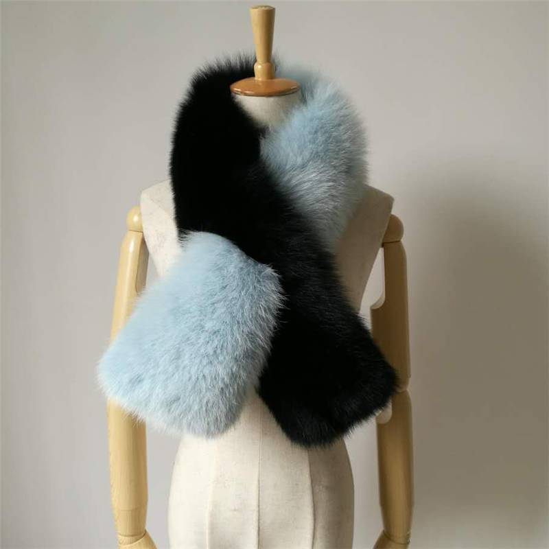 Hit Fashion Scarves and Stoles Real Genuine Fox Fur Collar Scarf For Women Winter Vintage Cap Warm Genuine Fur Collar Scarves hot sale fashion 2016 scarf real rex rabbit fur hat scarf for children autumn and winter warm thick cap collar free shopping