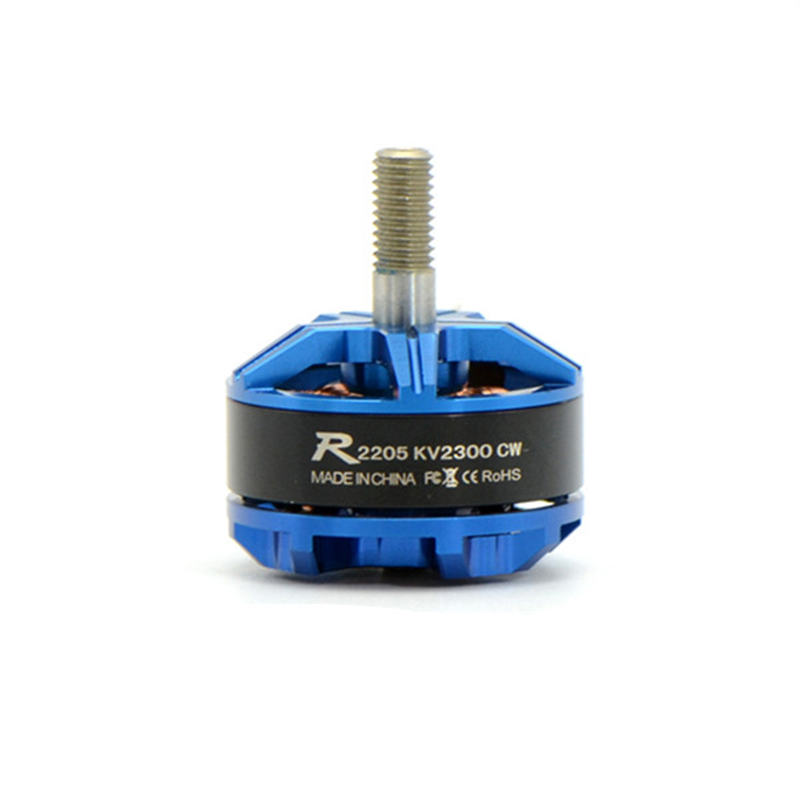 Sunnysky R2205 2300KV 2500KV 3-4S Racing Edition CW CCW Brushless Motor For FPV Racer Drone RC Multicopter Blue