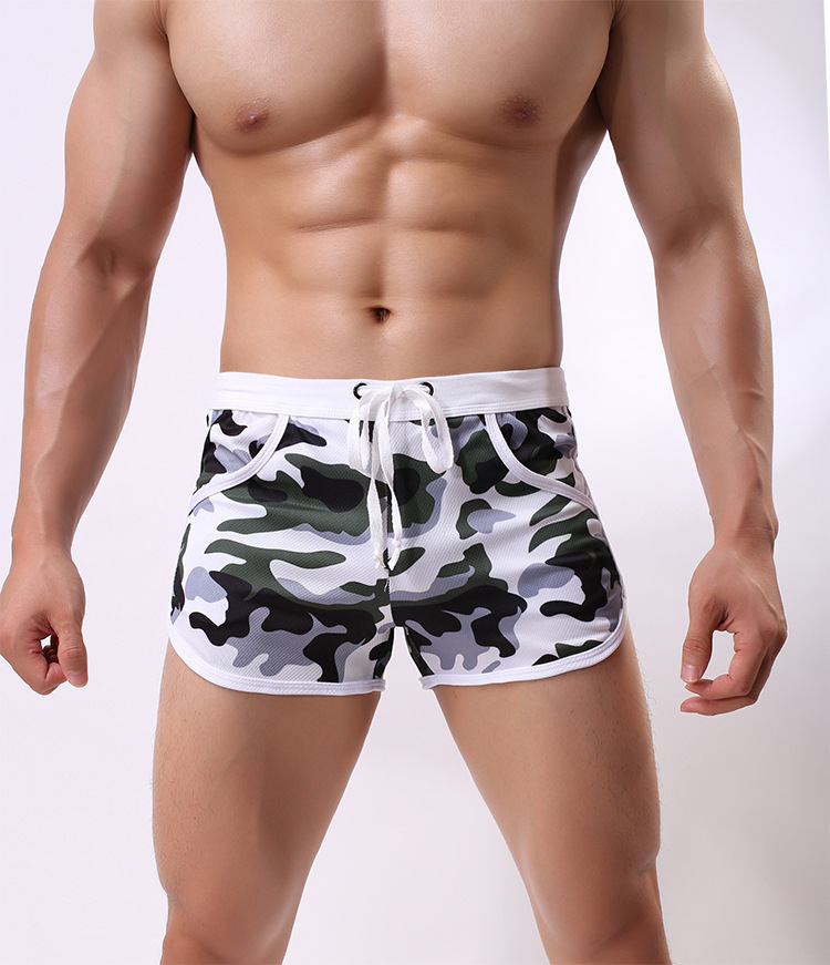 Men's Beach Board Shorts Quick Dry Swimming Trunks Mens Bathing Suit Male Boxer Briefs Pants