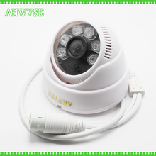 AHWVSE Wide View 2.8mm Lens IP Camera 720P 960P 1080P CCTV Security HD Network Indoor IRC NightVision ONVIF H.264