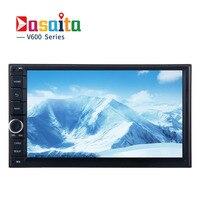 Dasaita Android 6 0 Auto Radio Qcta Core 7 Inch 2 DIN Universal Car NO DVD