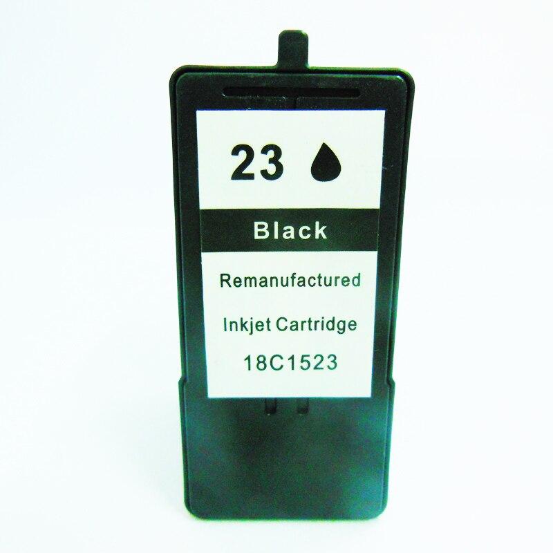 Pour Lexmark 23 cartouche d'encre noire 18C1523 pour Lexmark X3530 X3550 X4550 X4530 Z1420 pour lexmark cartouches d'imprimante