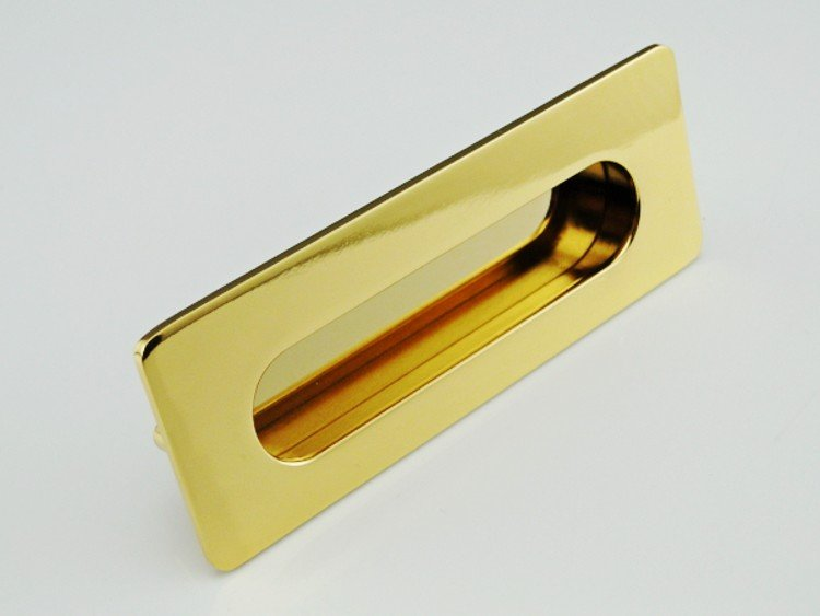 Home Hardware Furniture Clasping Sliding Gold Door Handle