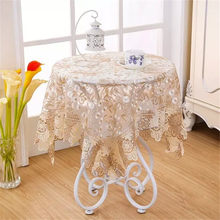 Hot Sale New Fashion European Style Lace Table Cloth Restaurant Hotel Tablecloths Table Cover Home Party Coffee Table Cloth(China)