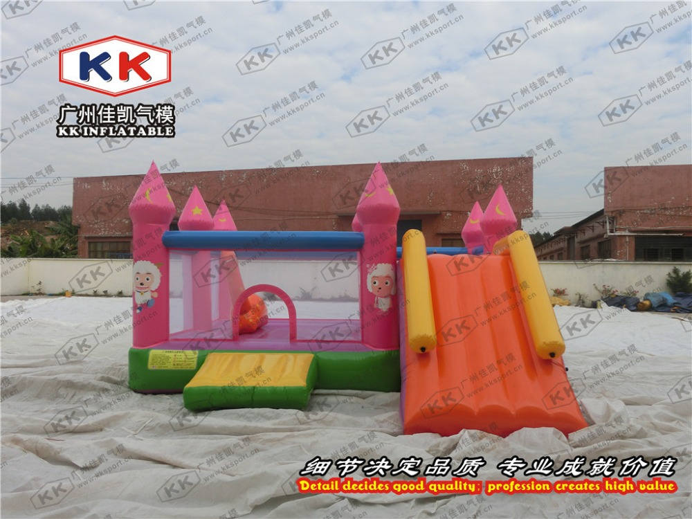 baby indoor afforadable inflatable combo castle with slidebaby indoor afforadable inflatable combo castle with slide
