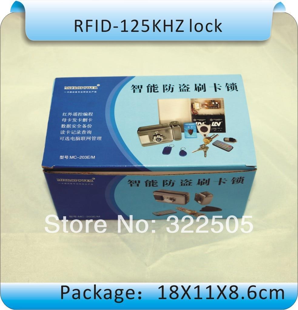 Yüksek kalite, DIY DC-12V Elektronik entegre RFID kart kilidi, - Güvenlik ve Koruma - Fotoğraf 5